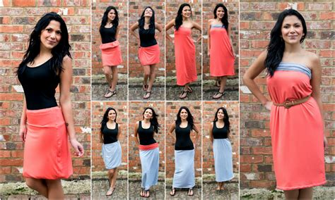 8 Ways To Wear Summer Clothes In Other Seasons by Convertible Dress Skirt And More Does It Transform 8 Ways