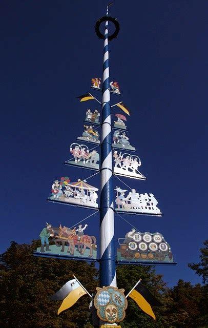 deutsch global berufe rund um den maibaum