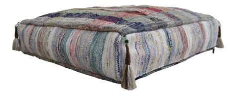 floor ottoman cushion rugrag turkish woven kilim sitting cushion floor