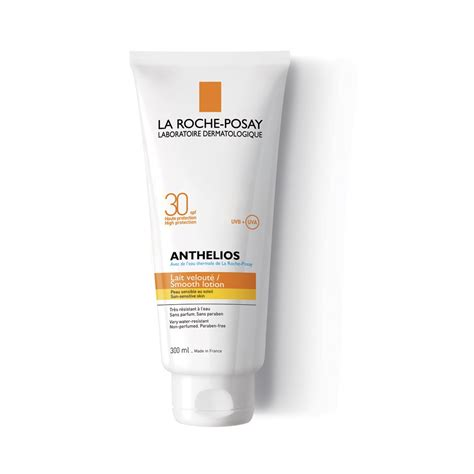 la roche posay anthelios smooth lotion spf30 300ml free shipping lookfantastic