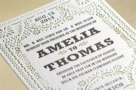 LetterPress ? A Traditional Wedding Cards Printing
