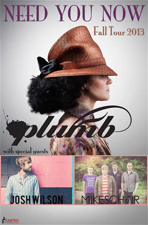 Plumb Need You Now by Plumb Announces Tour In Seven Years The Z