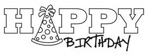 happy birthday drawing free download clip art free