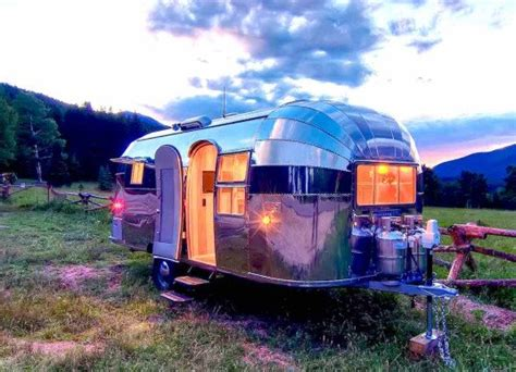 retro chic airstream renovations