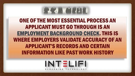 Background Check Past Employment Ppt Employment Background Check Does Past Employment Matters Powerpoint