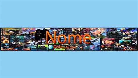 layout para youtube editavel banner editavel layout 2013 youtube