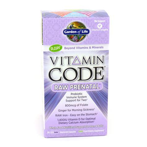 Garden Of Prenatal Vitamins Vitamin Code Prenatal Prenatal Vitamin Code By Garden Of 90 Vegan