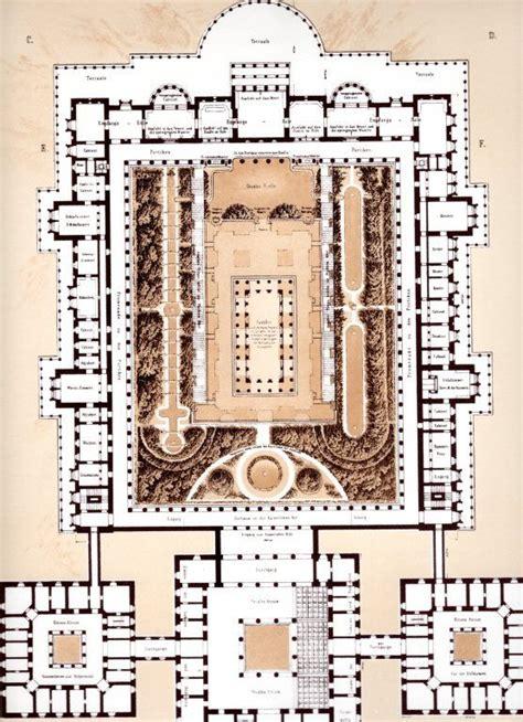 royal palace floor plans orianda palace floor plan grundriss 1838 never built