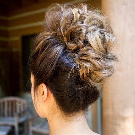 Updo Hairstyle Tools by Hair Trend Alert The Mohawk Updo