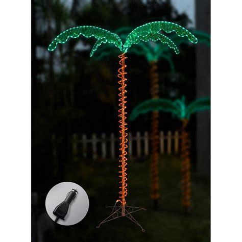 palm tree string lights 12v led palm tree rope light 7 mings drop ship 7070104 patio lights cing world