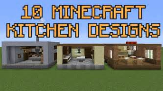 How Do You Design A Kitchen 10 Minecraft Kitchen Designs Youtube