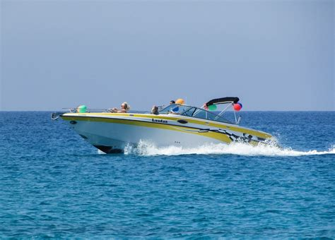 speed boat images free photo speed boat sea speed fun free image on