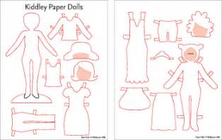 paper doll clothes template diy paper doll templates kiddley