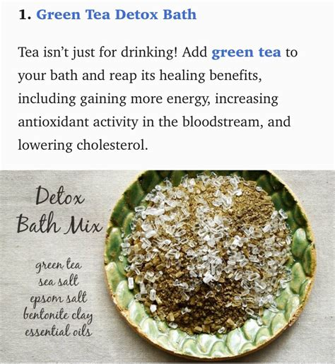 Diy At Home Detox Tea by Musely