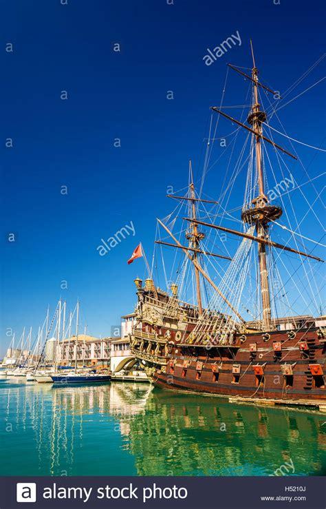 old boat genoa old galleon neptune genoa stock photos old galleon