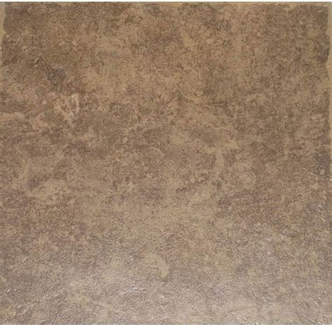Floor Tiles by Style Selections La Balantina Brown Ceramic Floor Tile