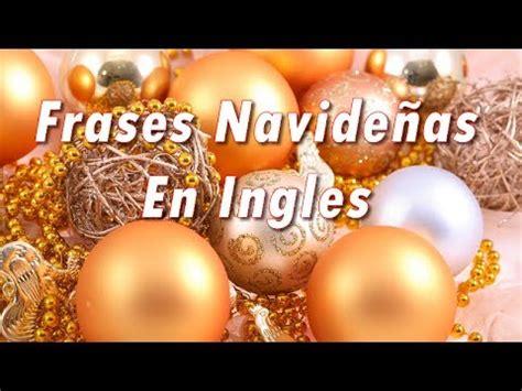 imagenes navideñas en ingles frases navide 241 as en ingles youtube