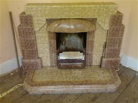 Deco Tiled Fireplaces by Deco Tiled Fireplace Deco Corner