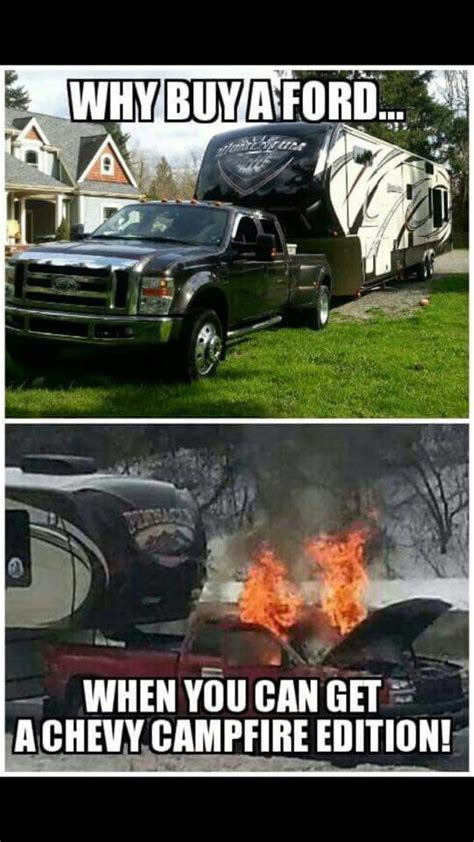 Ford Vs Chevy Meme - damn chevys for the love of truck pinterest chevy