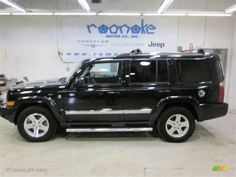 Jeep Commander 4x4 2010 Brilliant Black Pearl Jeep Commander Limited
