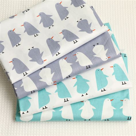 Patchwork Penguin - á ç à 100 cotton fabric á penguin penguin design