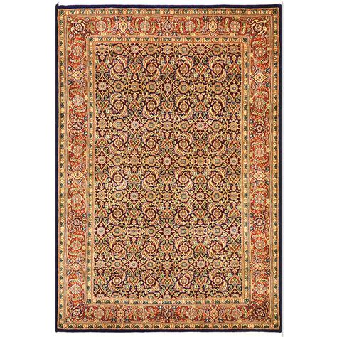 1 X 4 Rug - size 4 3 quot x 6 1 quot herati wool rug from india
