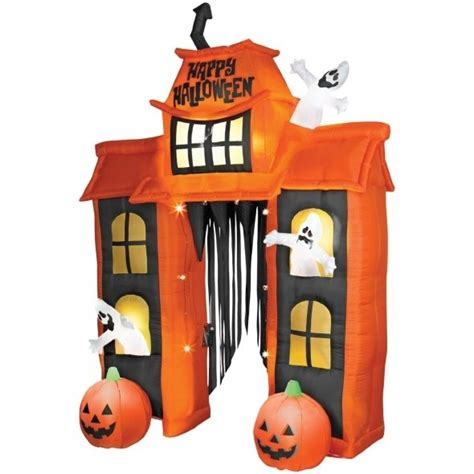 inflatable haunted house inflatable haunted house for halloween blow ups pinterest