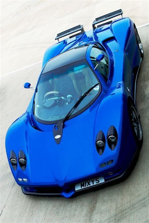 koenigsegg car blue electric blue pagani zonda car inspired pinterest