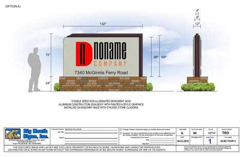 facilities layout ppt render services big mouth signs