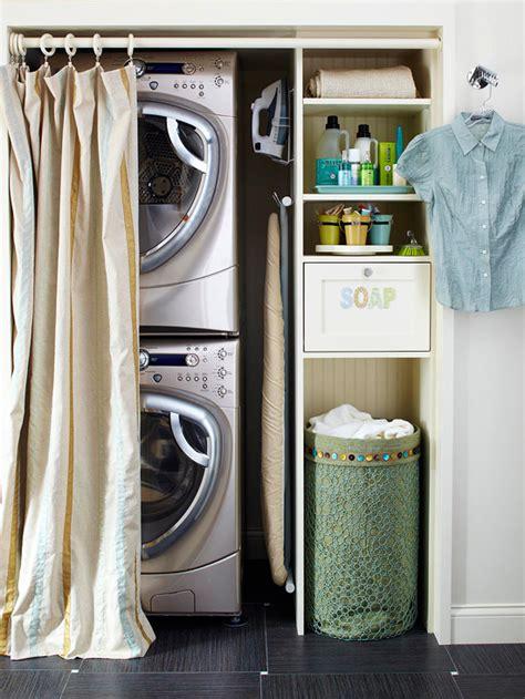 Laundry Room Curtain Ideas Ideas Closet Laundry Room Contemporary Laundry Room Bhg
