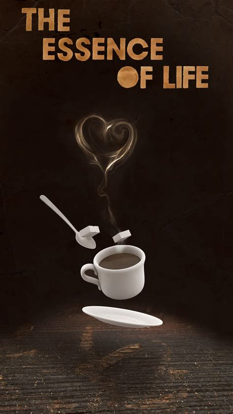 coffee wallpaper android the essence of life coffee love android wallpaper free