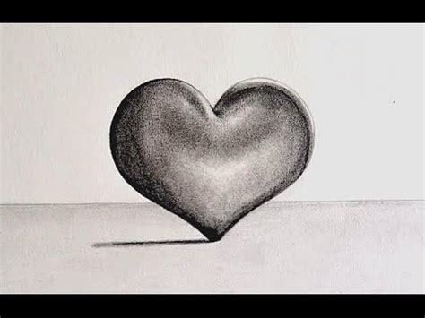 imagenes de corazones dibujados c 211 mo dibujar un coraz 211 n en 3d hacer corazones a lapiz