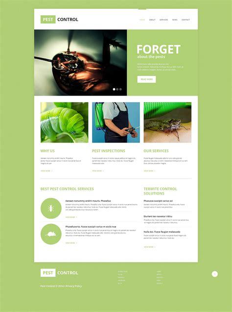 Pest Control Responsive Website Template 49210 Pest Website Template
