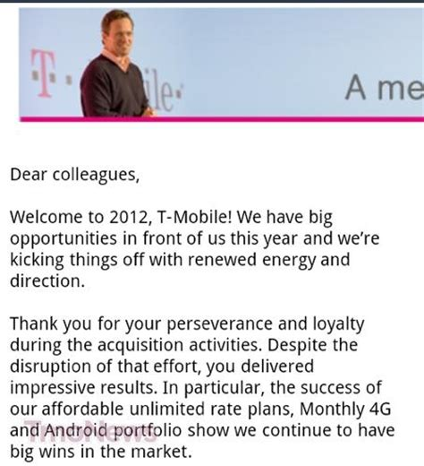 new year message to employees t mobile ceo welcomes the new year with statement