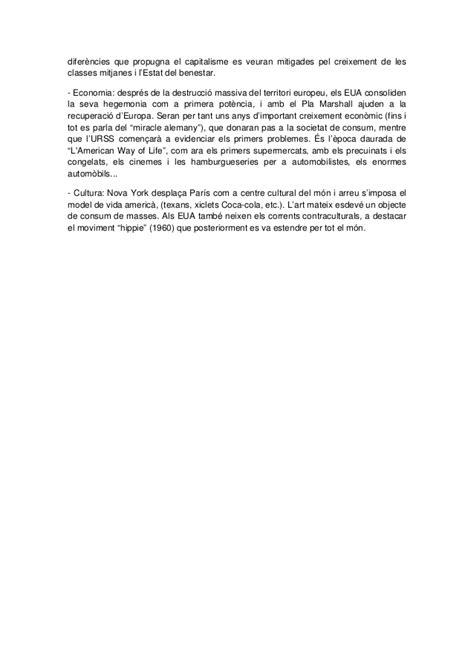 Context històric segle XX (món i Espanya)