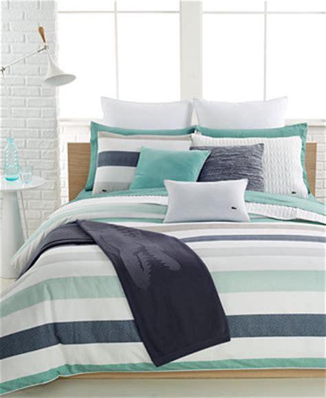 lacoste home bailleul duvet cover sets bedding