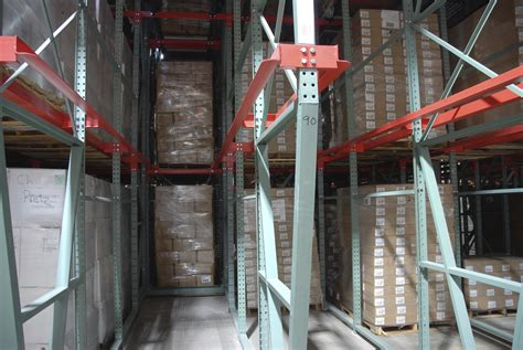 dive warehouse drive in pallet racking