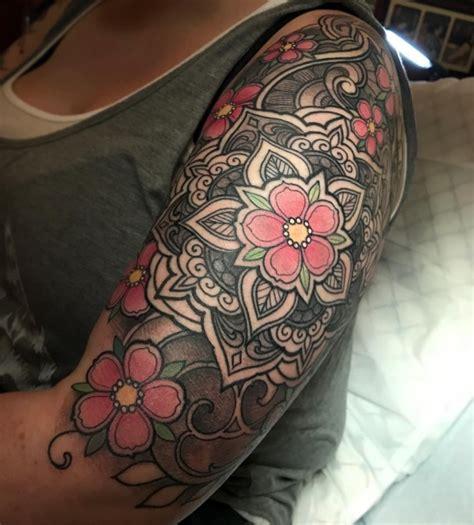 mandala sleeve tattoo 69 spectacular mandala sleeve tattoos tattoomagz