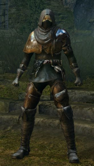 Souls Light Armor by Black Leather Set Souls Wiki Fandom Powered By Wikia