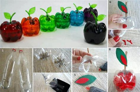 plastic crafts projects recycling plastic bottles creative and clever with
