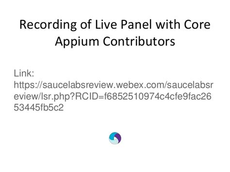 appium tutorial github live panel appium core committers answer your questions