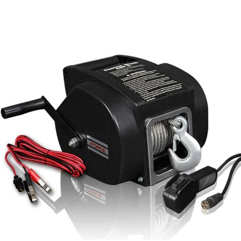 boat winch electric 5000lbs portable electric boat winch