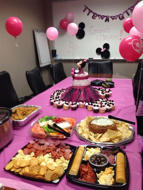 baby shower for work work minnie mouse baby shower minnie mouse baby shower