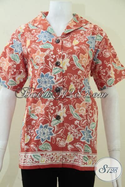 Baju Wanita Paling baju batik wanita paling laris saat ini blus batik trendy pegawai bank karyawati swasta dan