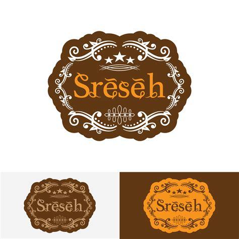 contoh design label kue sribu desain logo logo desain untuk kue kering traditiona