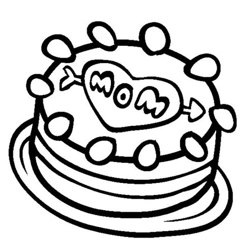 i love my mom cake coloring pages best place to color