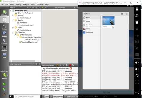 qt tutorial osx how to open android image gallery in qt amin