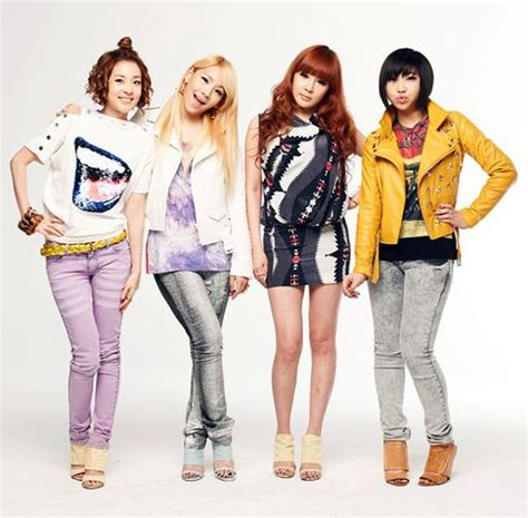 Kpop 2ne1 Photo 3 Tshirtkaosraglananak Oceanseven 2ne1 introduced in a commercial with their labelmate