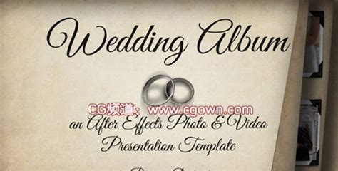 Wedding Album Videohive by 婚礼相册videohive Wedding Album Ae模板 Cg资源网
