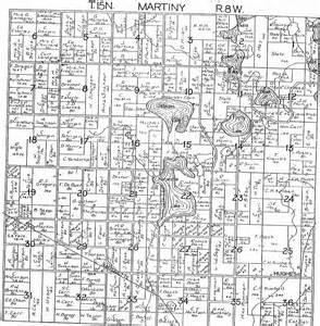 Michigan Plat Maps by 1918 Martiny Township Mecosta County Michigan Plat Map